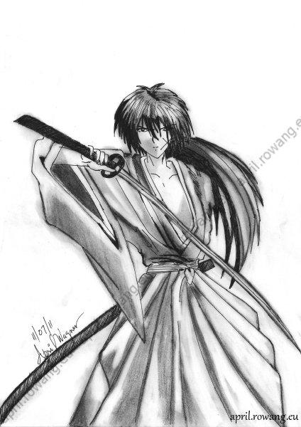 One Piece Drawing Kenshin